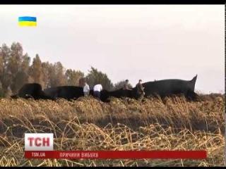 На місці вибуху газогону у Полтавській області знайдені сліди вибухівки