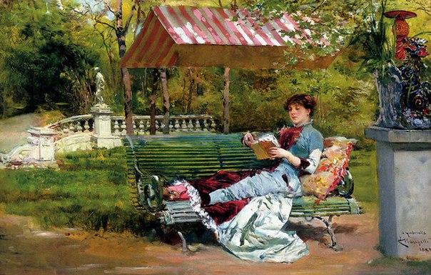 """""""Хорошая книга"""", Людовико Маркетти (1882)"""