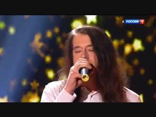 Женя Белоусов с сыном Романом. Песня Девчонка-Девчоночка в исполнении Романа.