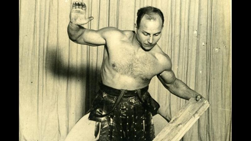 Александр Иванович Засс (Железный Самсон), силач 20-го века.