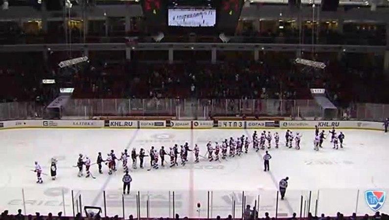 Моменты из матчей КХЛ сезона 14 15 • Интересный момент Интервью Александр Николишин Трактор 05 10