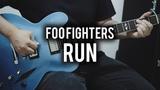 Foo Fighters - Run - Guitar Cover - Fender Chris Shiflett Telecaster &amp Gibson DG335 Replica