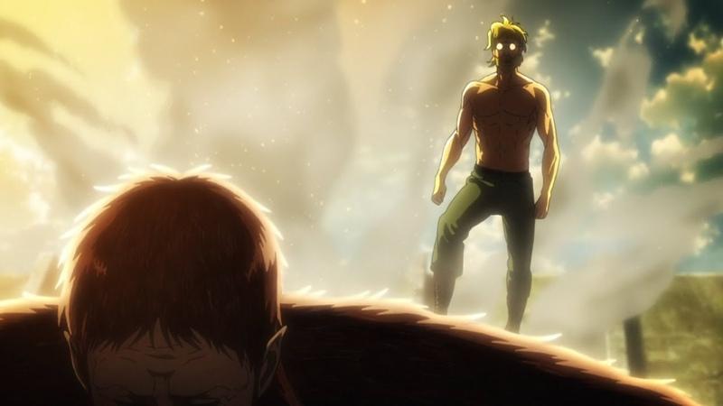 The Beast Titan Defeats the Armored Titan - Attack on Titan Season 3【1080p】