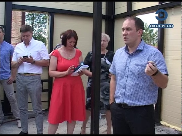 В Кузнецке проконтролировали строительство канализационно-насосной станции