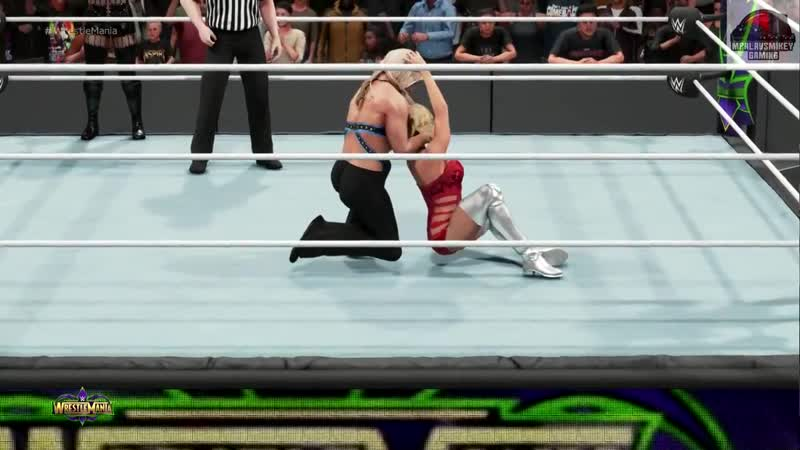 WWE 2K19 Maryse Lana vs Beth Naty