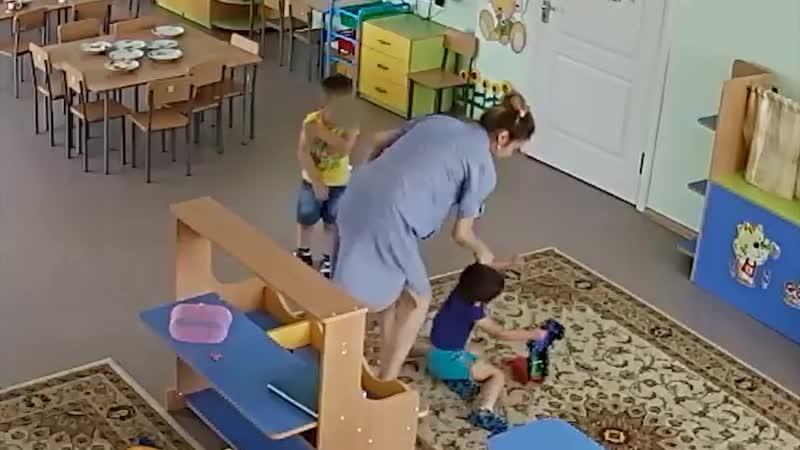 Воспитатель детского сада в Аксу избила мальчика, укусившего ее ребенка