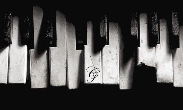 Життя як фортепіано білі клавіші це