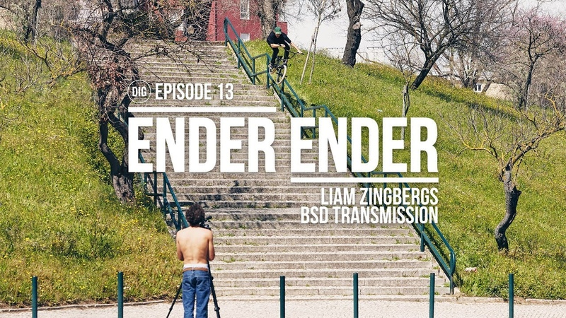 DIG BMX - Ender Ender - Liam Zingbergs insidebmx