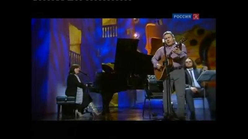 Т. Рузавина и С. Таюшев -