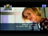 aaron carter - i'm gonna miss you forever mtv asia