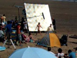 Filming of 3rd series of Gavin and Stacey in Barry Island