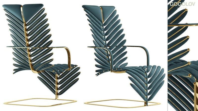 №114.Моделирование кресла My design в 3d max и marvelous designer