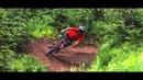 Matty Miles and Karl Heldt of Silvia Films in the Sun Peaks Bike Park