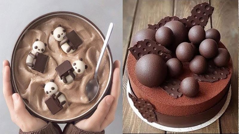 How To make a Chocolate Cake Decorating Tutorials Cake Style 2018 Amazing Cake Decorating Video