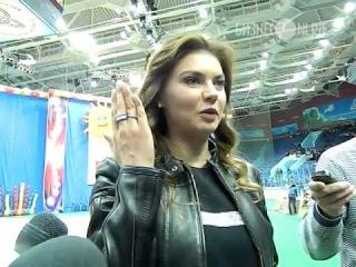 Алина Кабаева открыла турнир по художественной гимнастике в Нижнекамске