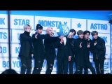 [VK][18.01.2017] Monsta X - Talk @ GLOBAL V LIVE TOP 10