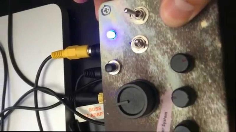 CIRCUIT BENT REHOUSED DAN ELECTRO FAB METAL DISTORTION PEDAL