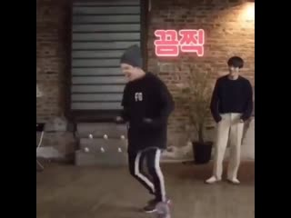 Ego but its yoongi dancing in tiny