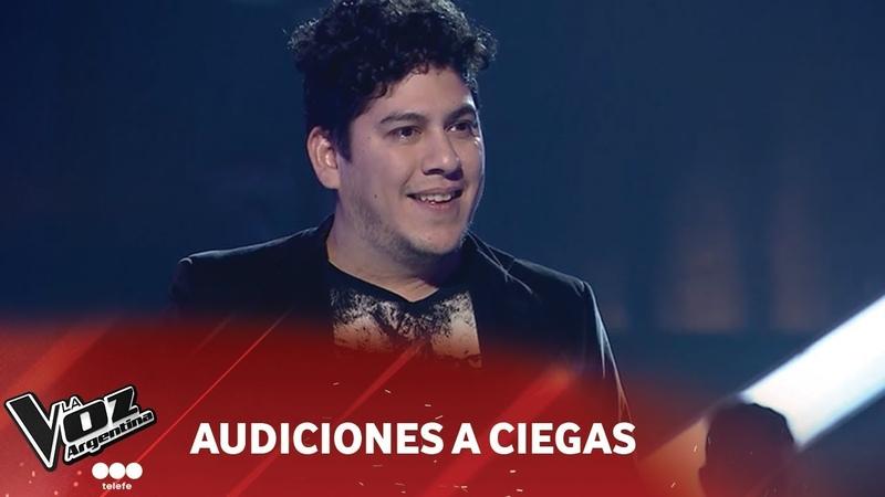 Rodrigo Herrera Before you accuse me Eric Clapton La Voz Argentina 2018
