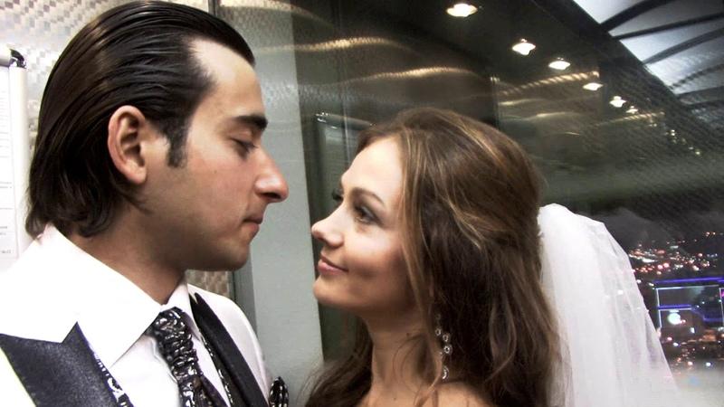 Свадьба в гостинице Милан - очень красивые жених и невеста