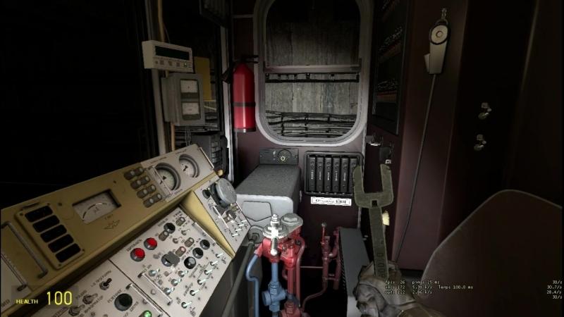 Запуск 81 717 МВМ и выход на линию Речная Международная из оборота на Crossline m12 в Garry's mod metrostroi