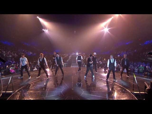 NKOTBSB live at O2 Arena - Don't turn out the lights