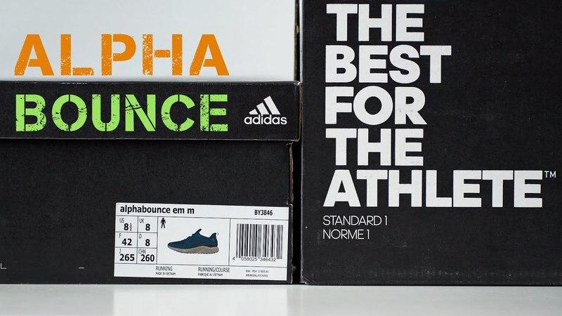 Обзор кроссовок Adidas AlphaBounce EM