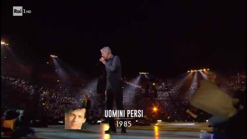 Claudio Baglioni - Uomini Persi (Al Centro Live)