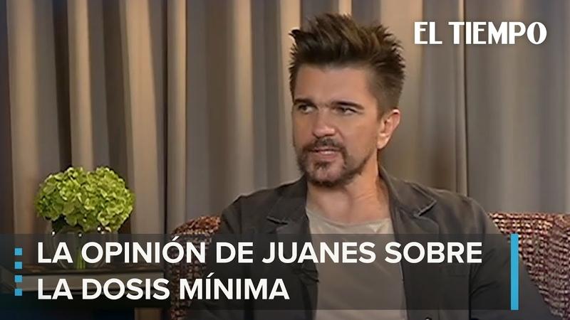 Juanes contra decreto de la dosis mínima EL TIEMPO