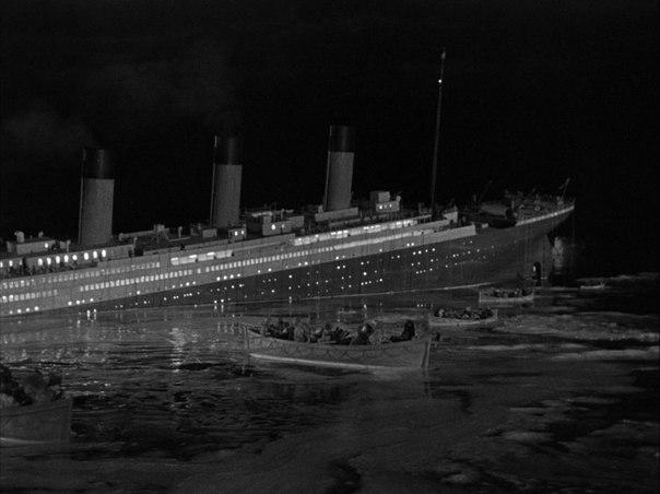 "Кадр из фильма ""Титаник"" 1953"