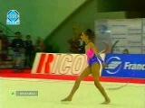 Alina Kabaeva Hoop AA Porto European Rhythmic Gymnastic Championships 1998