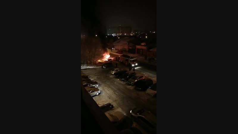 Чапаева пожар