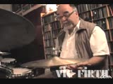 #6 Peter Erskine - Brush Lessons - Medium tempo Jazz, Fills with Singles, Doubles