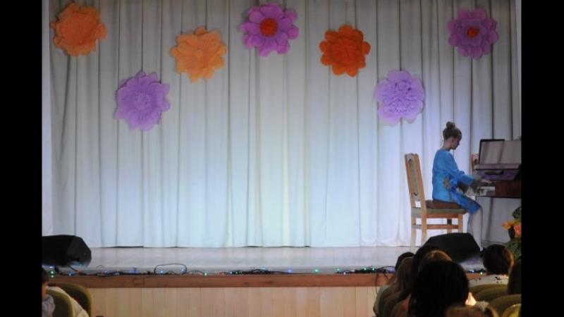 Янушевская Александра (выпускной вечер 2018 г.) ученица 6 класса