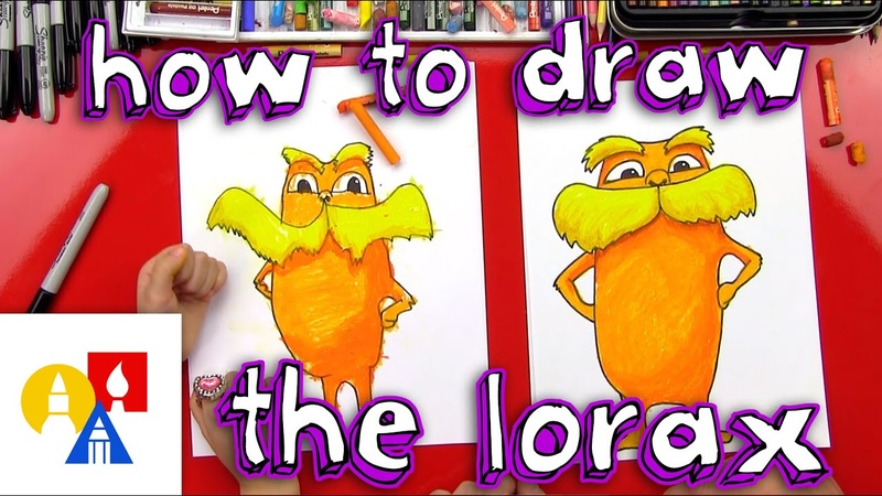 How To Draw The Lorax Giveaway