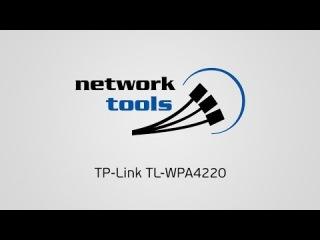 Обзор адаптера Powerline с WiFi TP-Link TL-WPA4220