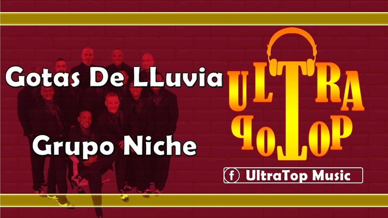Gotas De Lluvia Grupo Niche LETRA AUDIO
