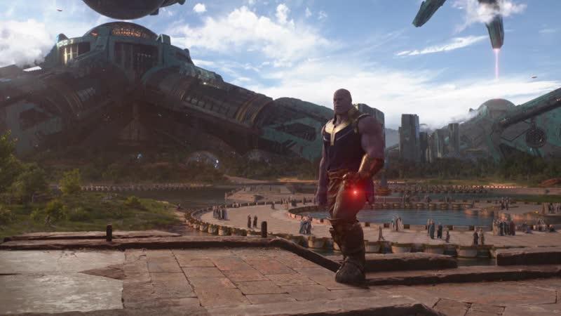 Мстители:Война бесконечности - прибытие Тора в Ваканду и битва команды Старка против Таноса на Титане