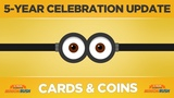 Minion Rush - Celebration Update - Cards &amp Coins