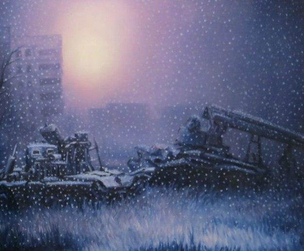 Роман Гуманюк «Огни Припяти или Тени Чернобыля» выставка в Гомеле