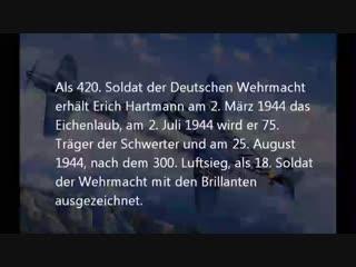 Blonder Ritter,Schwarzer Teufel - Erich Hartmann - YouTube