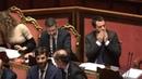Il governo pone la fiducia sulla manovra Pd grida vergogna Salvini ringrazia e manda un bacio