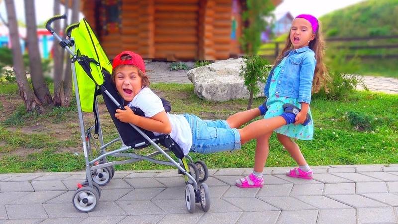 Камиль ХОЧЕТ Быть МАЛЕНЬКИМ НЕ ПОДЕЛИЛИ Коляску Для Детей kids children