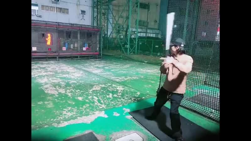 Marimo`s playing baseball