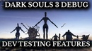 Dark Souls 3 - Developer Tools and Debug Mode - Unseen Features