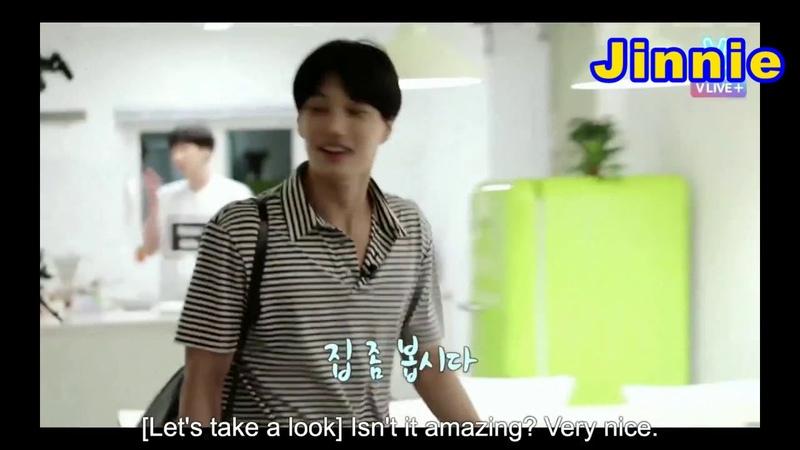 [ENGsub] Taemin and Timoteo greeted EXO Kai