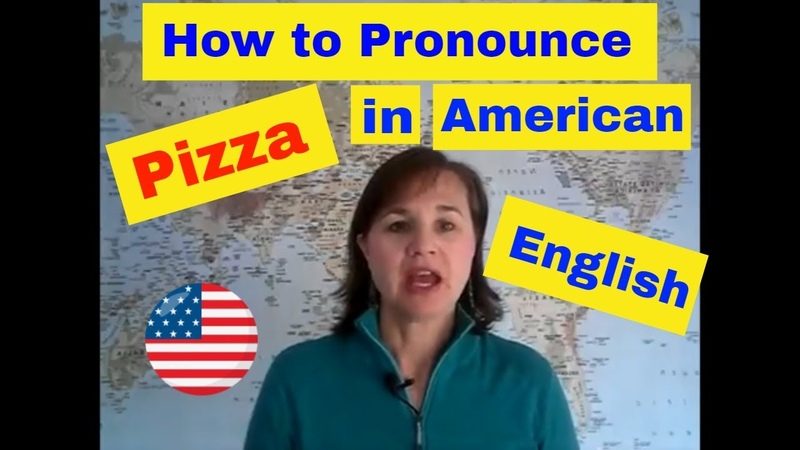 How to Pronounce Pizza in American English