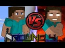 Steve vs Herobrine Rap Battle (Round 4) - An Original Minecraft Song