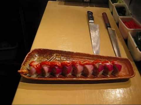 GUGU SUSHI ROLL - Making of Torch Roll