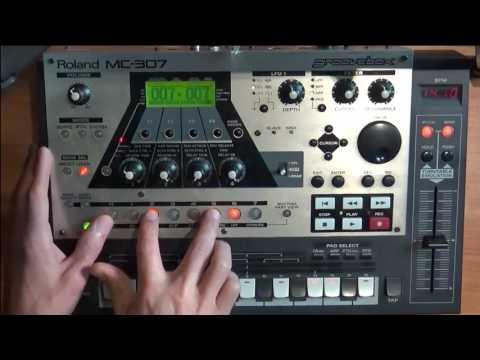 Groovebox MC-307 _ TECHNO 2
